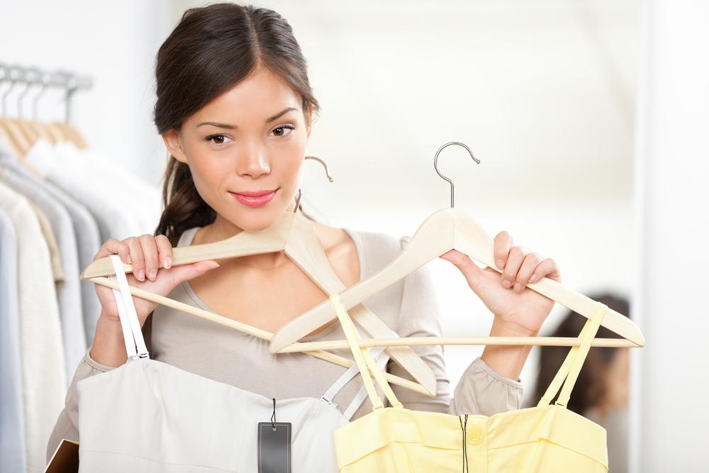 Antes de escolher, sempre verifique a composição dos tecidos na etiqueta